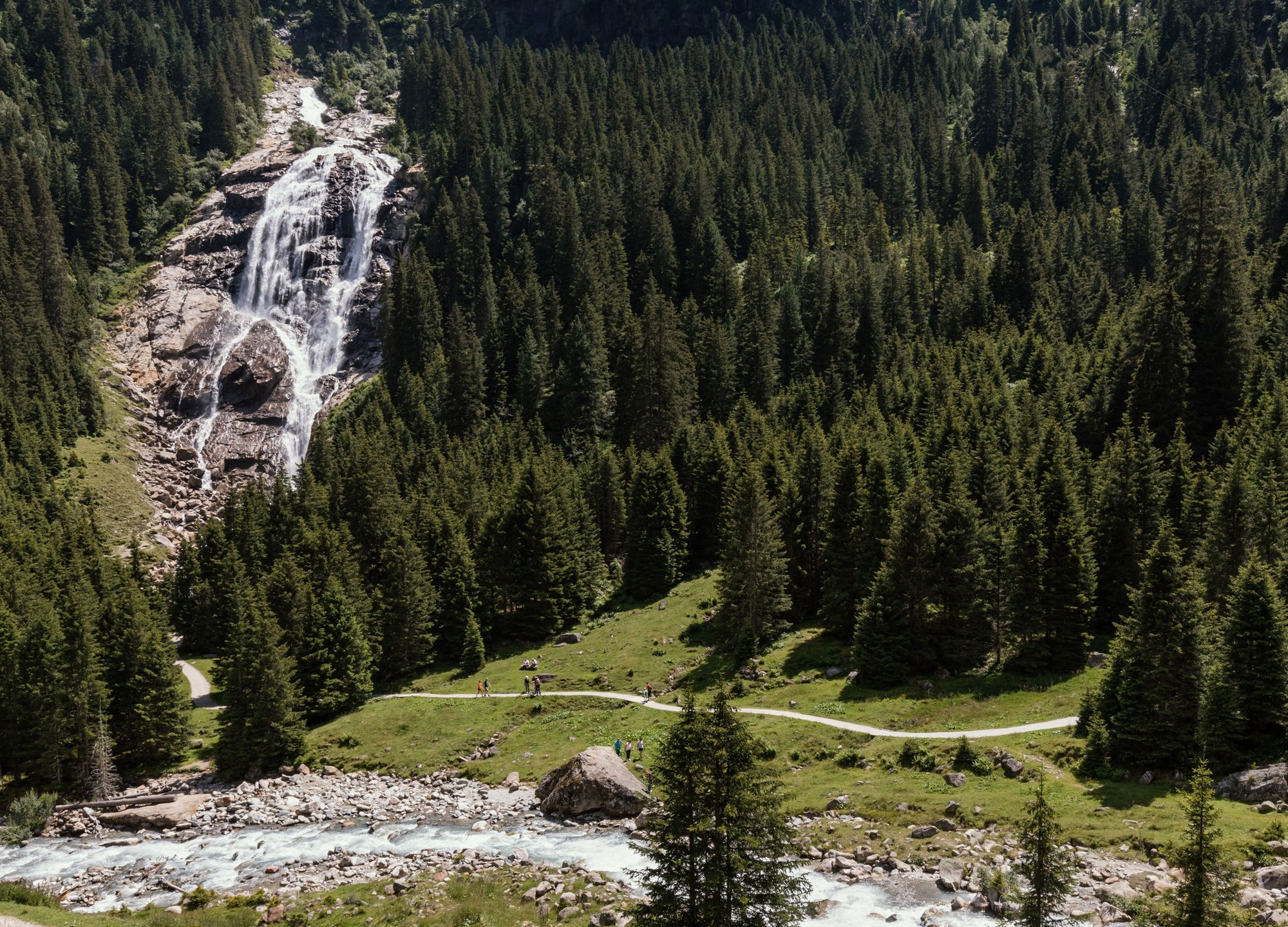 Grawa Wasserfall, © Tirol Werbung / Robert Pupeter