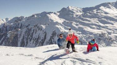 Familieferie om vinteren, © Tirol Werbung/Robert Pupeter