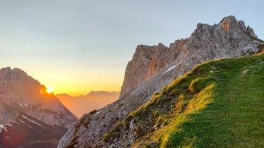 Vandreture ved solopgang, © Tirol Werbung/Jannis Braun