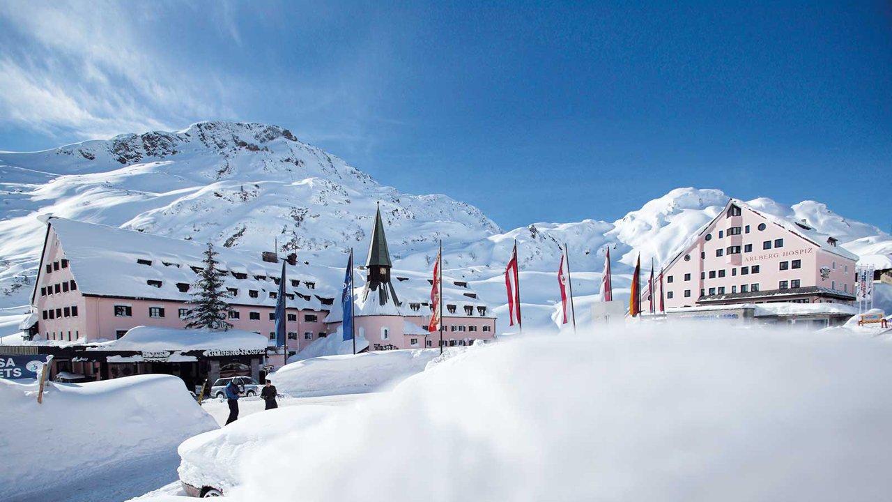 5 stjernet Hotel Hospiz i St.Christoph am Arlberg, © Arlberg Hospiz