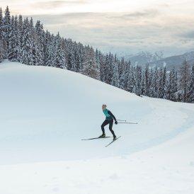 Langrend i Obertilliach, © Tirol Werbung / Katharina Poblotzki