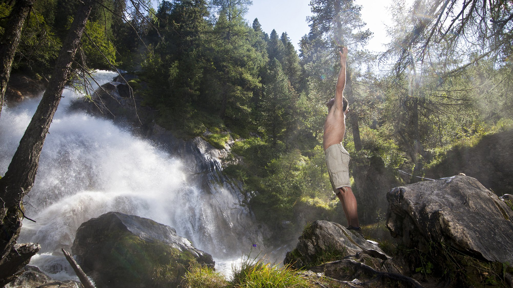 Wasserfall Hintertux, © TVB Tux-Finkenberg/Hannes Sautner