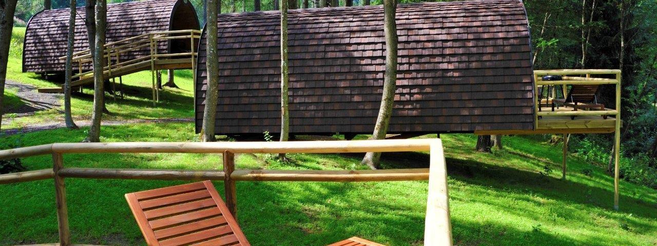 Natterersee Nature Resort - Wood Lodges