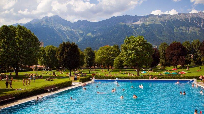 Freibad Tivoli, © Innsbruck und seine Feriendörfer / Tommy Bause