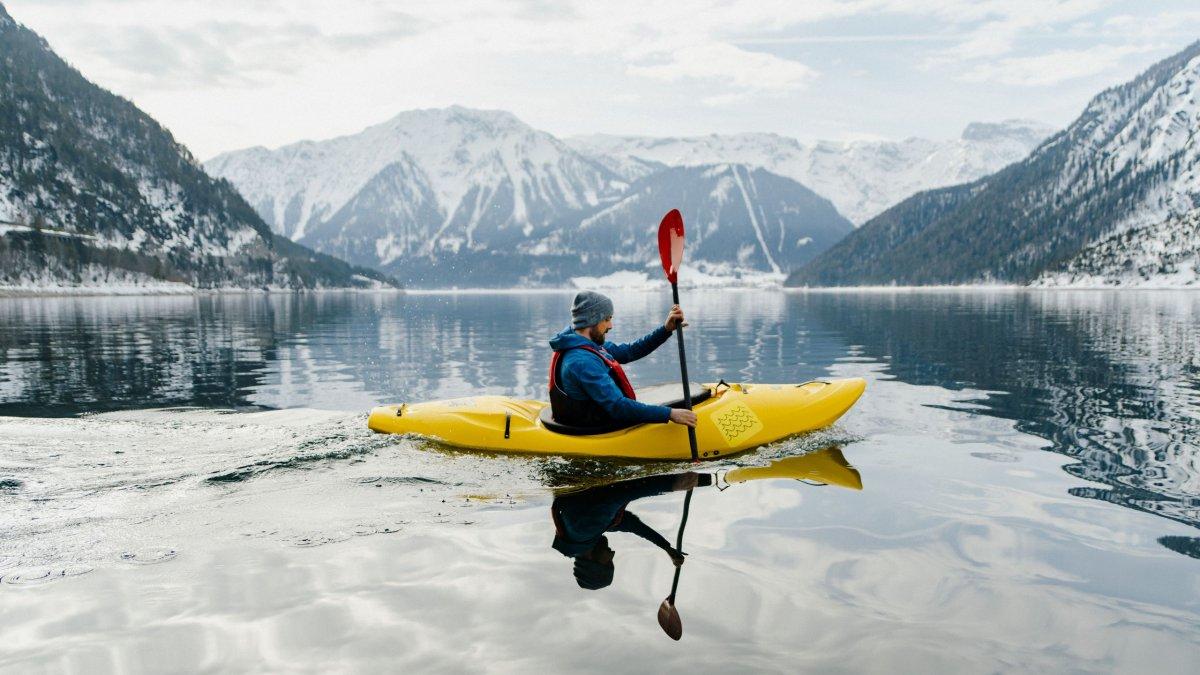 Kajakfahren auf dem Achensee