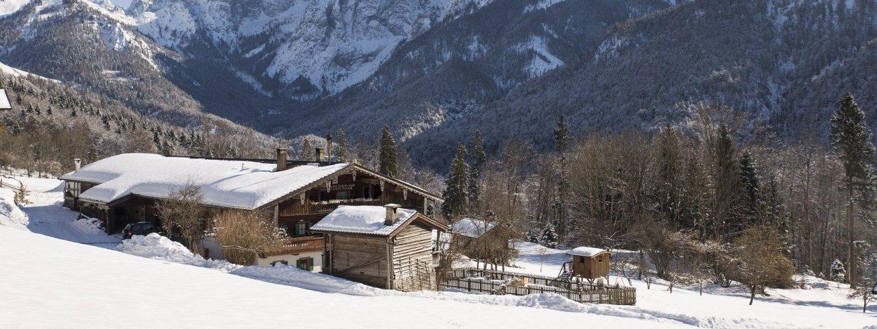 Kaisertal, Kufstein/Ebbs, Hinterkaiserhof, © Tirol Werbung / Heinzlmeier Bert