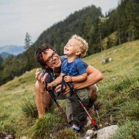 Vandring med børn, © Tirol Werbung/Robert Pupeter