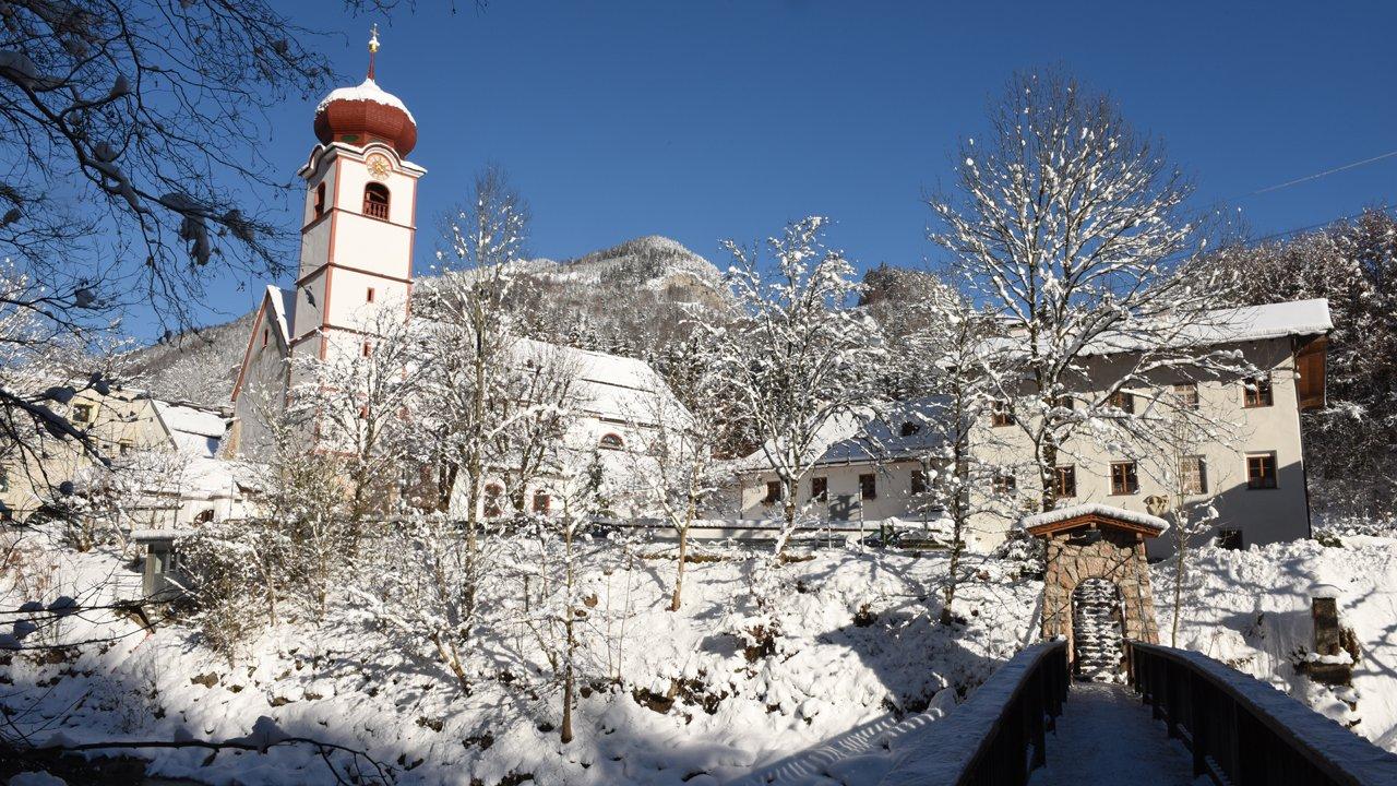 Kramsach im Winter, © Alpbachtal Tourismus / B. Berger